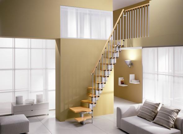 Ruimtebesparende trappen