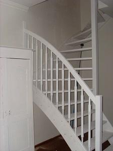 Trappen foto 39 s van op maat gemaakte trappen for Stalen trap maken