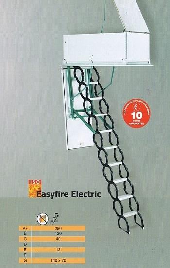Easyfire Electric Vlizotrappen