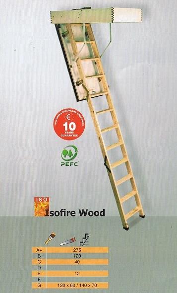 Isofire-wood Vlizotrappen