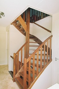 iroko houten trappen