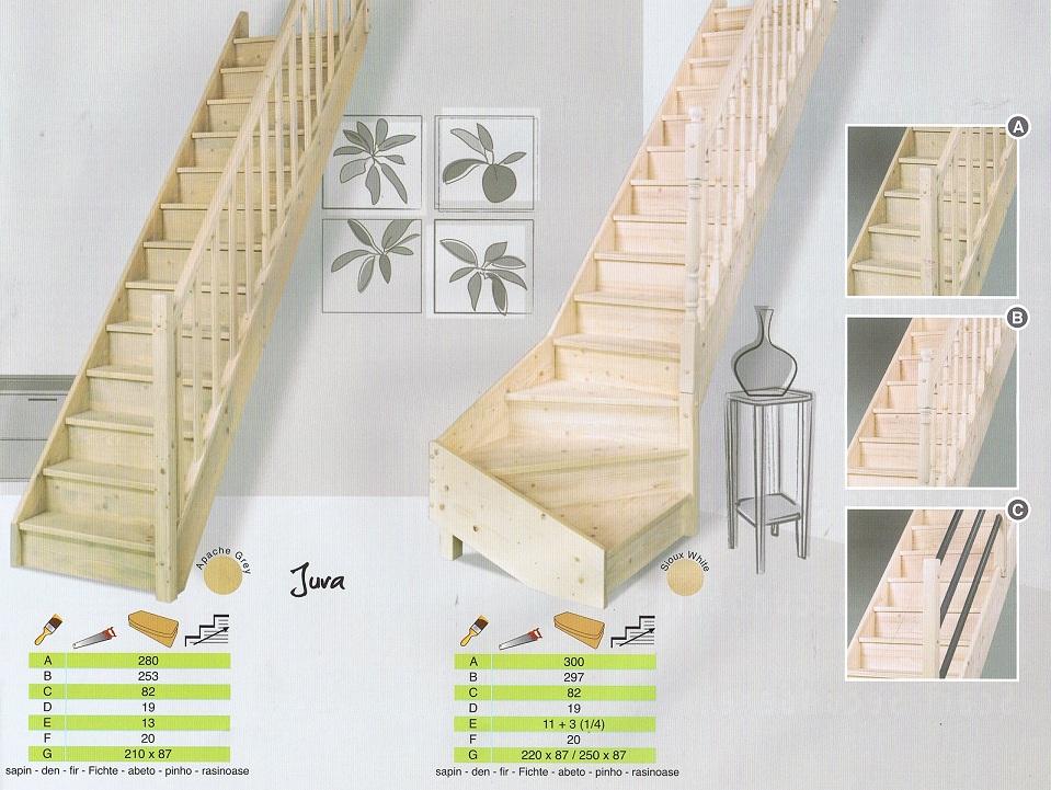 Bouwpakkettrappen doe het zelf trappen houten trappen en for Houten vaste trap