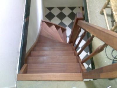 mahonie trappen