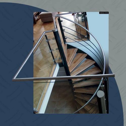stalen trappen