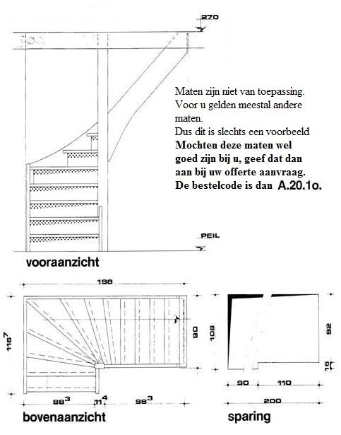 Doe het zelf trap de maattrap for Steektrap berekenen