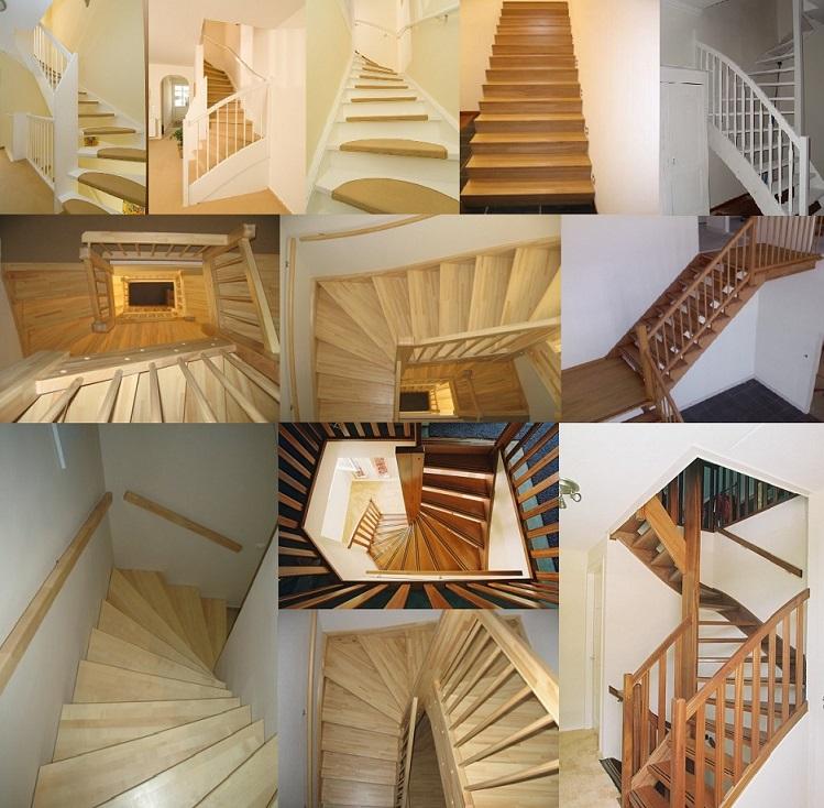 Trappen groningen houten trappen bouwpakkettrappen en for Houten vaste trap