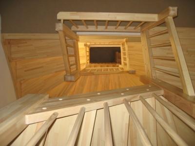 trappenhuis houten trappen
