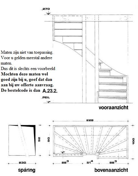 houten trappen op maat gemaakt