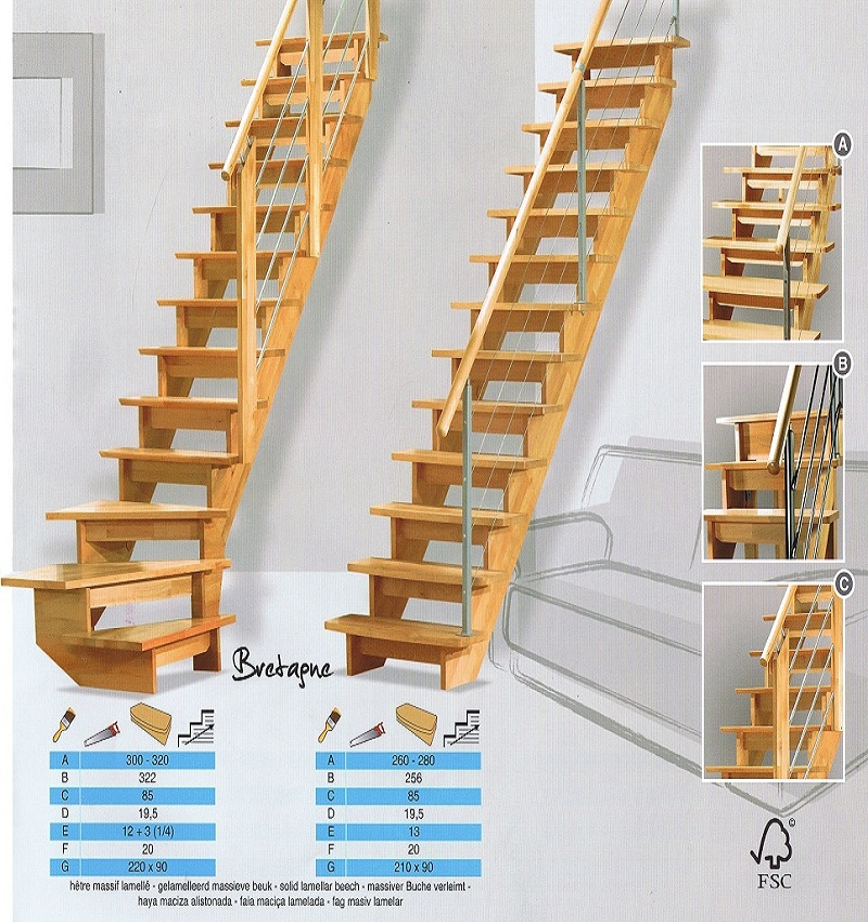 Trap op maat nodig maatkracht trappen heeft voor u houten for Goedkope trappen op maat
