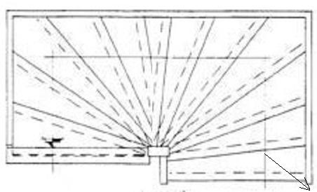 Trap maten van een halfslag trap linksdraaiend berekenen for Traphoogte berekenen