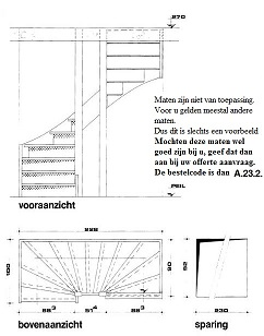 Trap tekenen programma for Badkamer tekenen programma