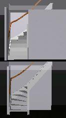 Uw trap in 3d bekijken for Steektrap berekenen